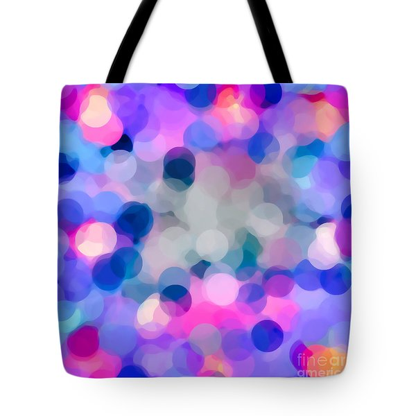 Tote Bag featuring the digital art My Circles by Gayle Price Thomas