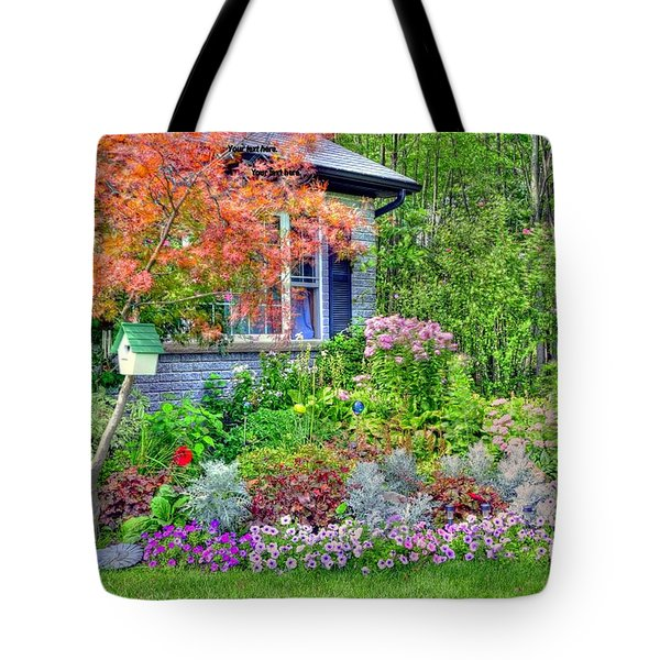 My Corner Of The World Tote Bag by Kathleen Struckle