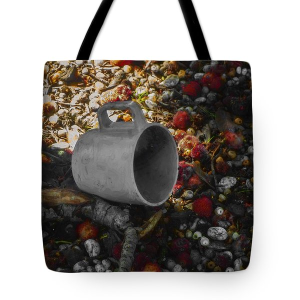 My Cup Falleth Over Tote Bag