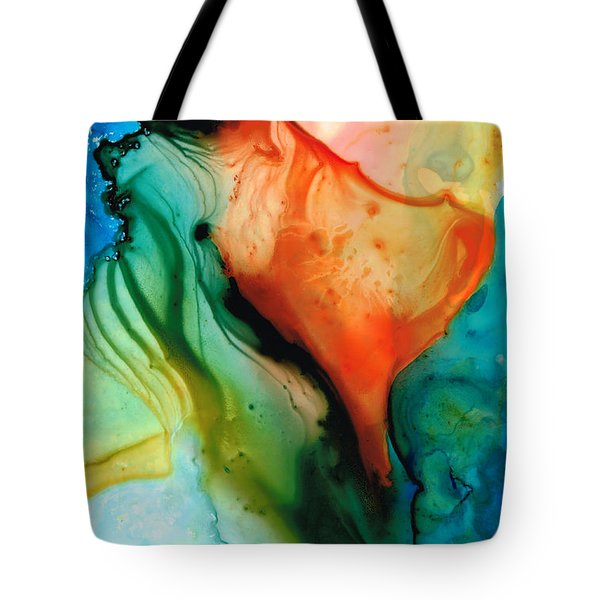 My Cup Runneth Over - Abstract Art By Sharon Cummings Tote Bag