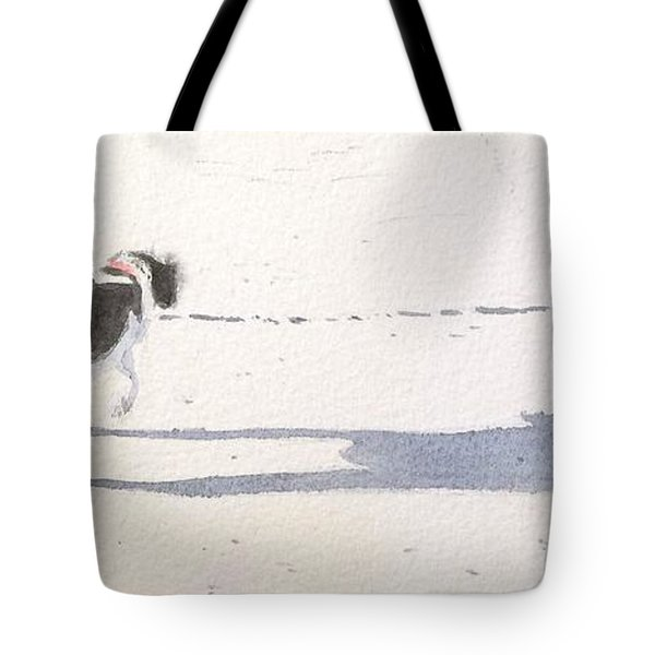 My Dog Tote Bag by Yoshiko Mishina