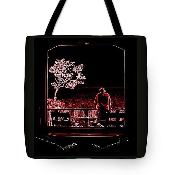 My Dreamer Tote Bag by Karen Wiles