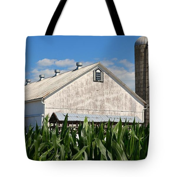 My Favorite Barn In Summer Tote Bag