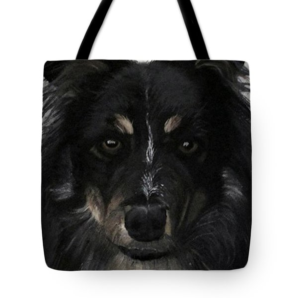 Tote Bag featuring the painting My Favorite Bud by Sharon Duguay