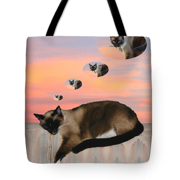 My Favorite Dream - Mouse Hunt Tote Bag