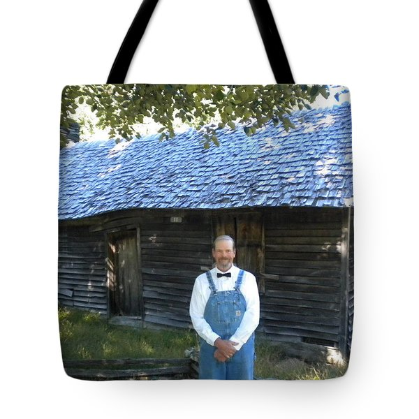 Tote Bag featuring the photograph My Favorite Farmer  by Diannah Lynch