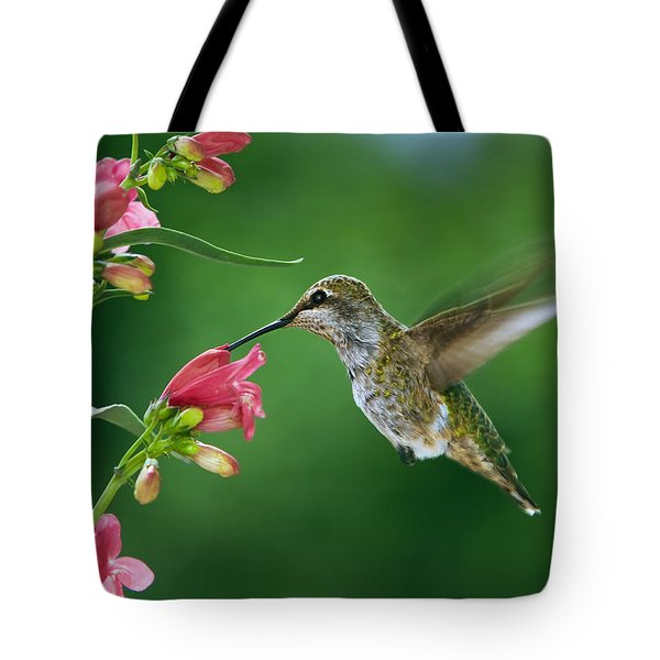 My Favorite Flowers Tote Bag