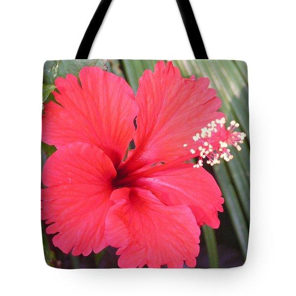 My Favorite Red Garden Friend Tote Bag