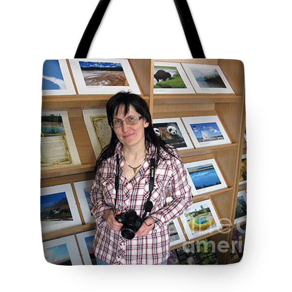 My First Personal Photo Show 2013 Tote Bag by Ausra Huntington nee Paulauskaite