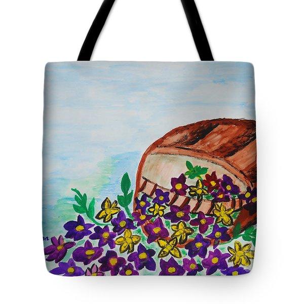 My Flower Basket Tote Bag
