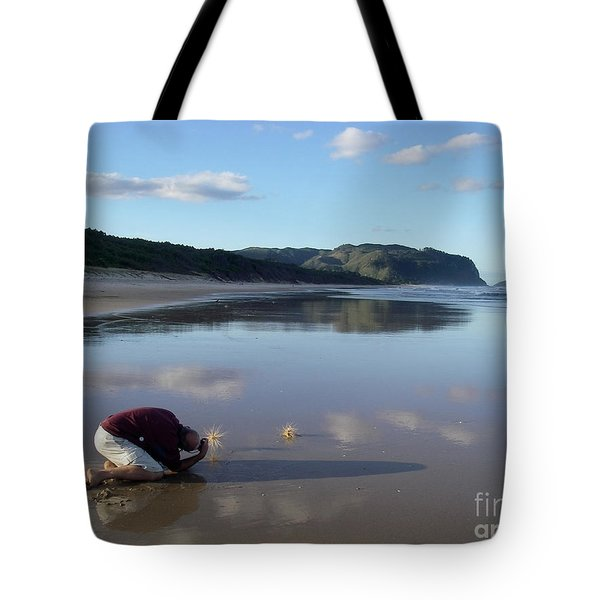 My Friend Photographer Tote Bag by Jola Martysz