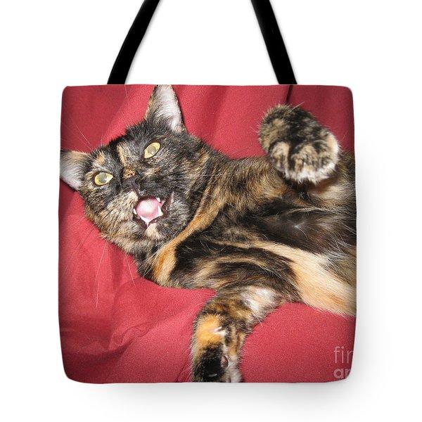 My Funny Cat Tote Bag