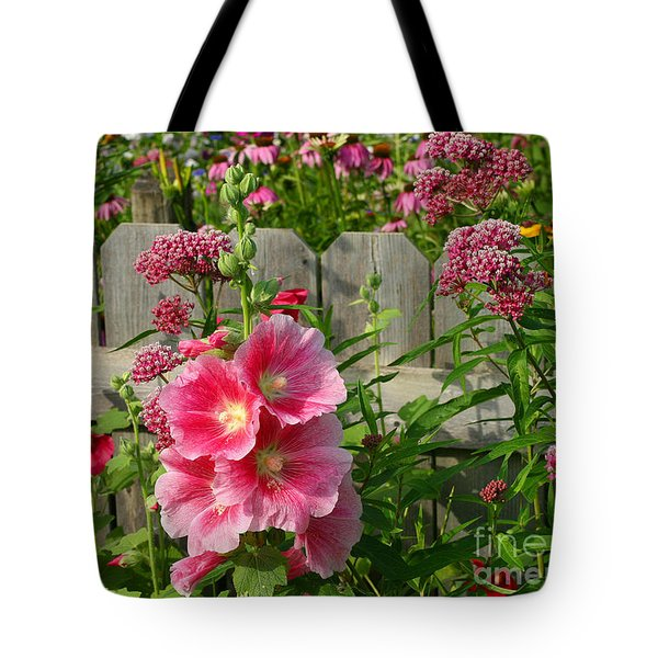 Tote Bag featuring the photograph My Garden 2011 by Steve Augustin