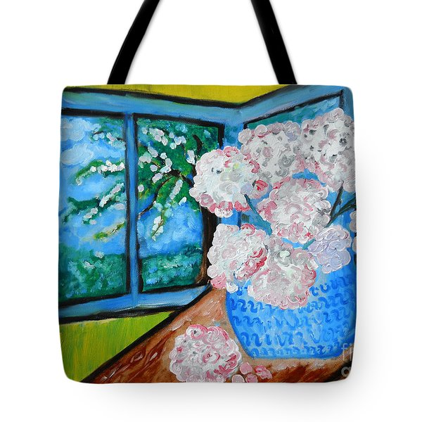 My Grandma S Flowers   Tote Bag