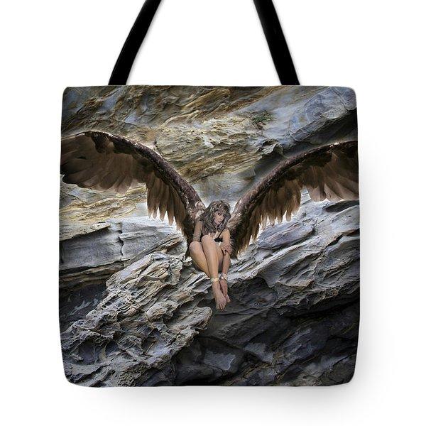 My Guardian Angel Tote Bag