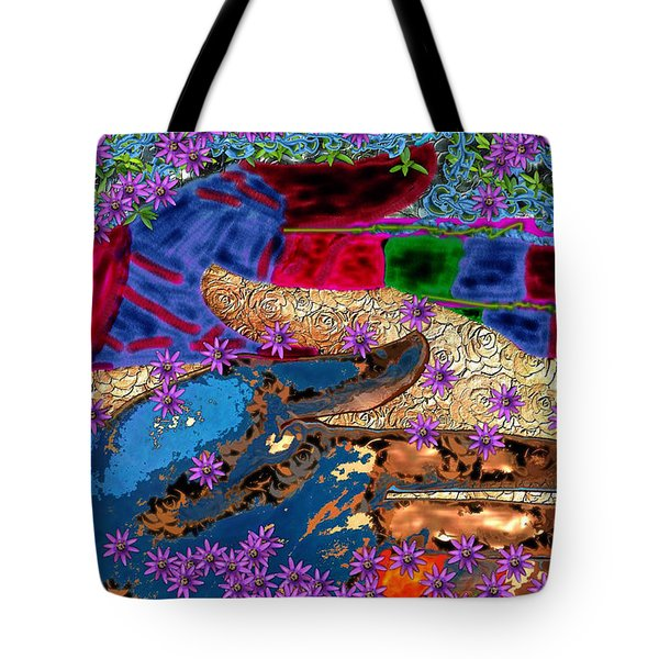 My Hand   Your Hand  And A Helping Hand Tote Bag