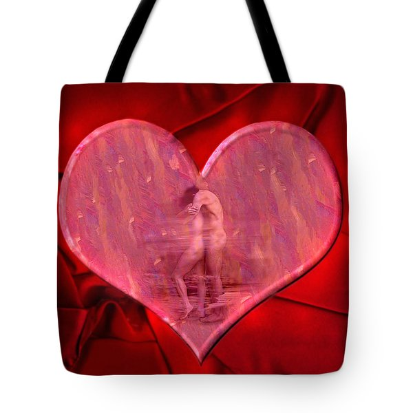 My Heart's Desire 2 Tote Bag by Kurt Van Wagner