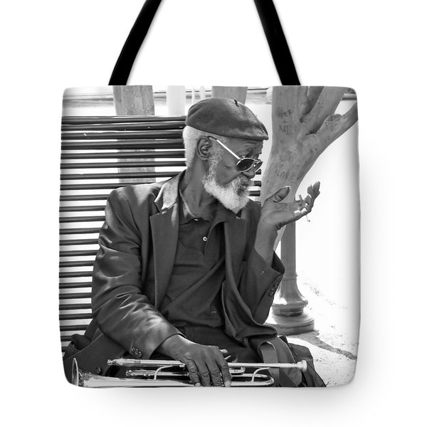 My Horn Tote Bag by Bill Howard