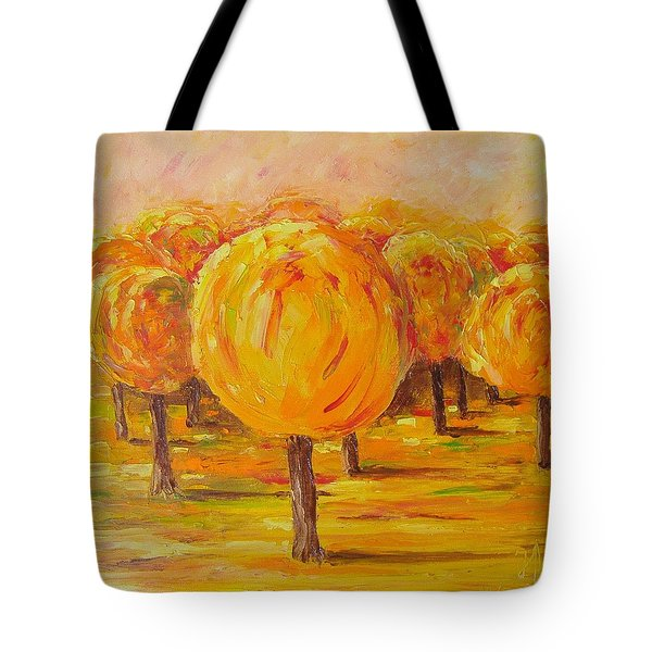 My Hot Autumn Tote Bag