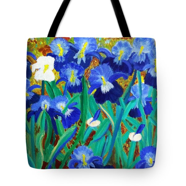 My Iris - Inspired  By Vangogh Tote Bag