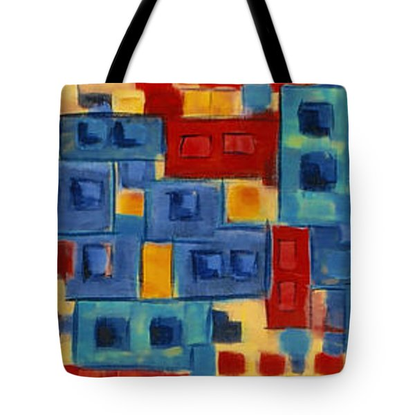 Tote Bag featuring the painting My Jazz N Blues 2 by Holly Carmichael
