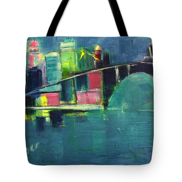 My Kind Of City Tote Bag