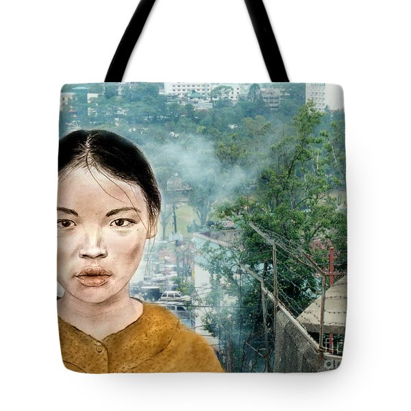My Kuiama A Young Vietnamese Girl Version II Tote Bag