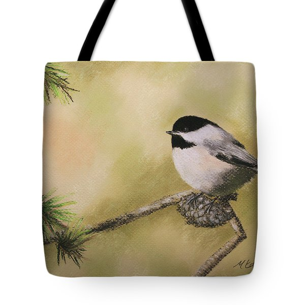 My Little Chickadee Tote Bag