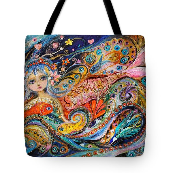 My Little Mermaid Lucille Tote Bag by Elena Kotliarker