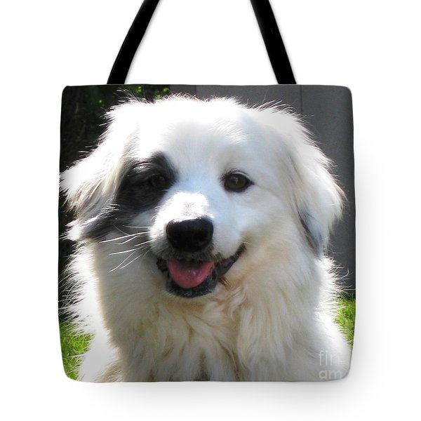 Tote Bag featuring the photograph My Little Pirate by Judy Palkimas