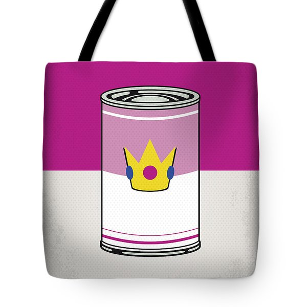 My Mario Warhols Minimal Can Poster-peach Tote Bag
