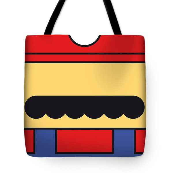 My Mariobros Fig 01 Minimal Poster Tote Bag