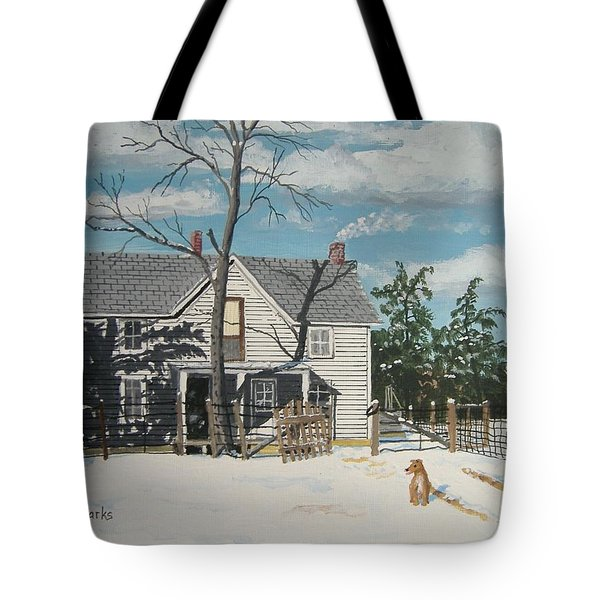 My Master Will Soon Be Home Tote Bag by Norm Starks