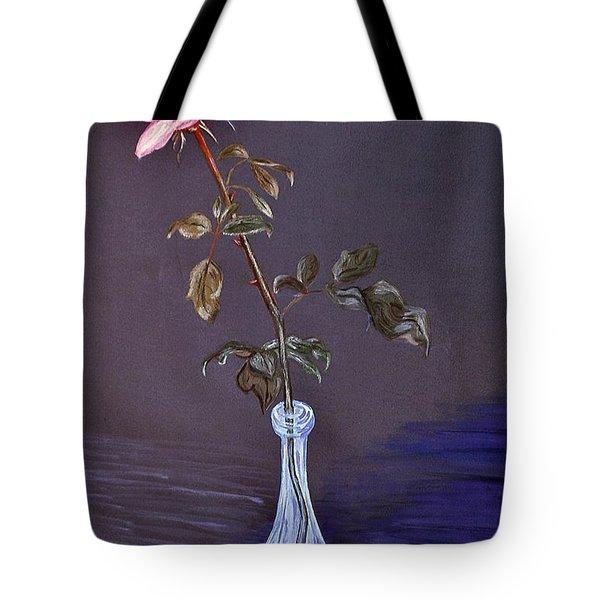 My Mothers Rose Tote Bag by Nina Ficur Feenan
