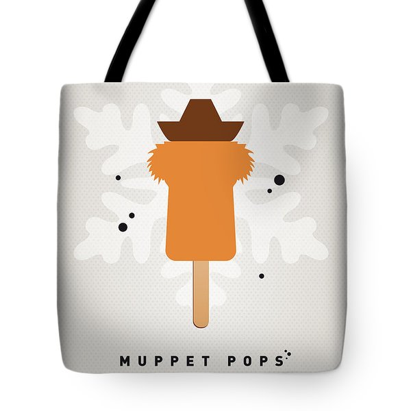 My Muppet Ice Pop - Fozzie Bear Tote Bag by Chungkong Art