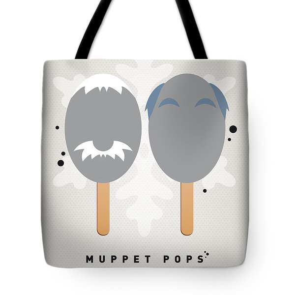 My Muppet Ice Pop - Statler And Waldorf Tote Bag by Chungkong Art