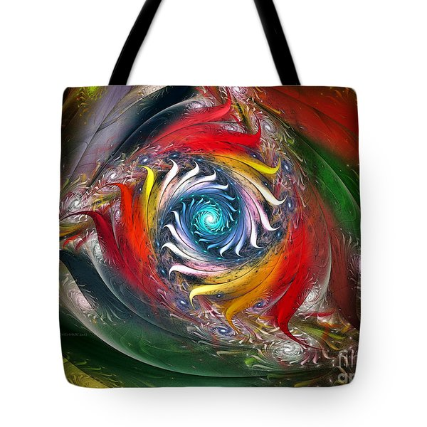 My My Beautiful Laundrette-fractal Art Tote Bag