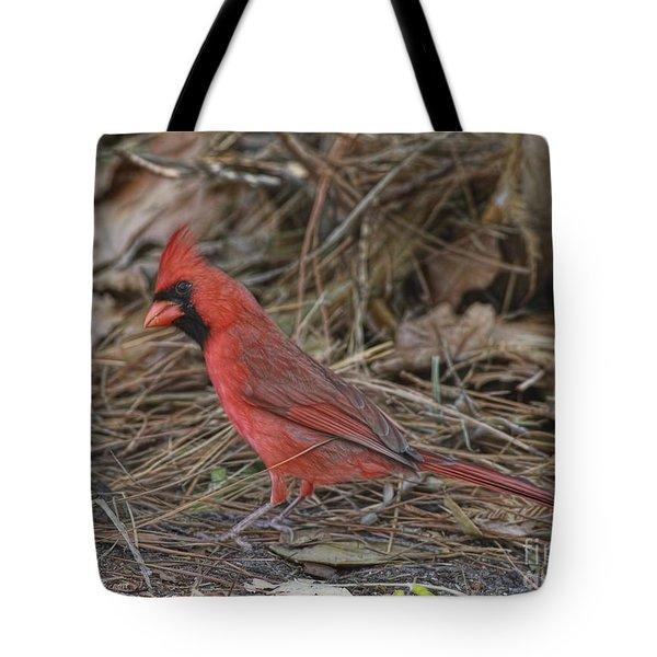 My Name Is Red Tote Bag by Deborah Benoit