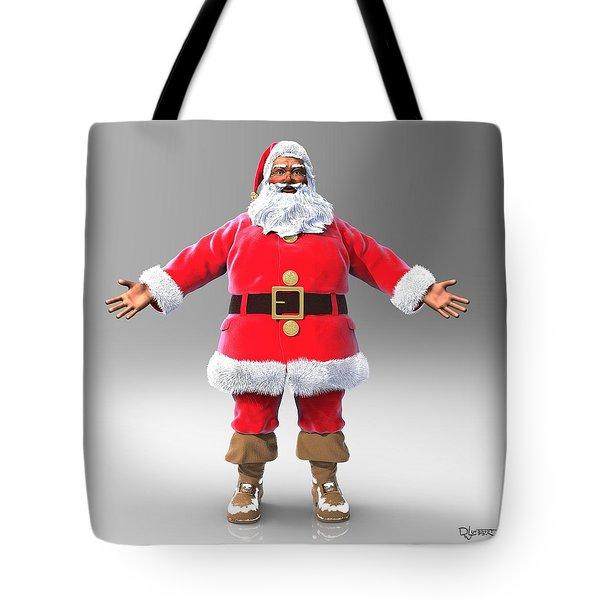 My Name Is Santa Tote Bag