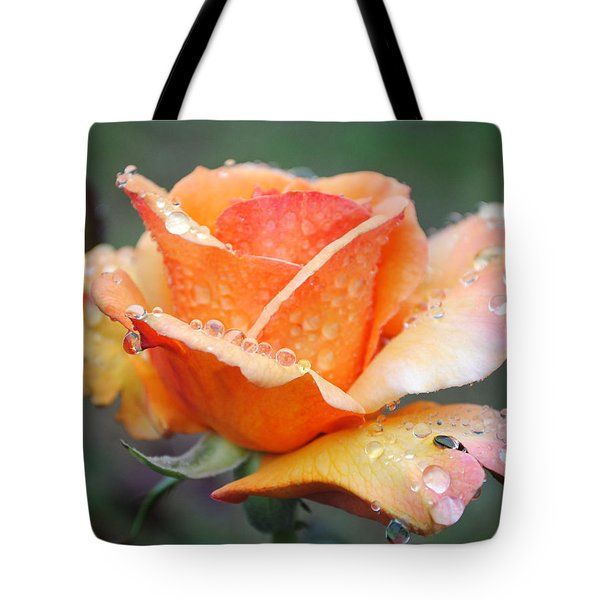 Tote Bag featuring the photograph My Neighbor's Rose by Kate Word