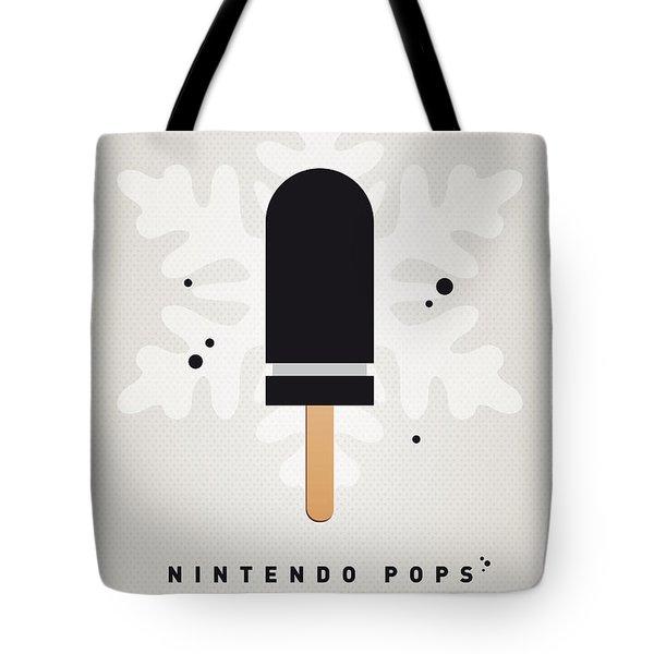 My Nintendo Ice Pop - Bullet Bill Tote Bag by Chungkong Art