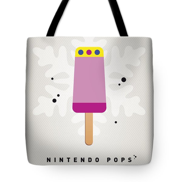 My Nintendo Ice Pop - Princess Peach Tote Bag by Chungkong Art