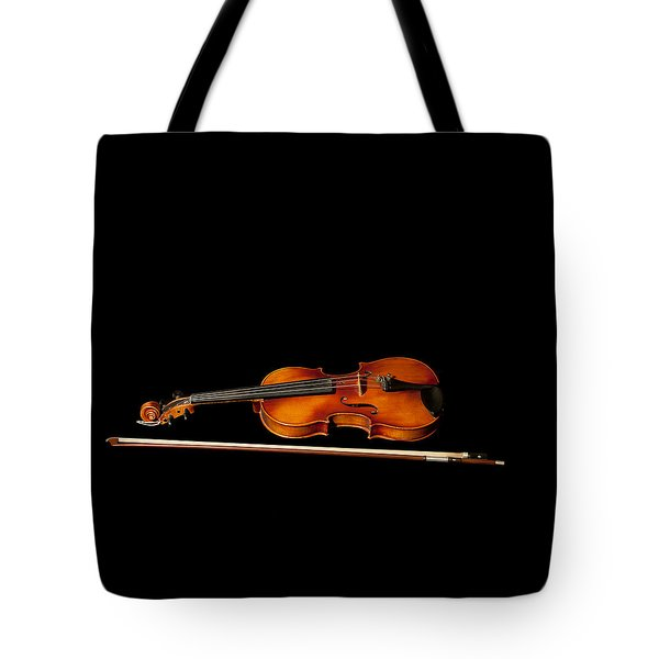 My Old Fiddle And Bow Tote Bag