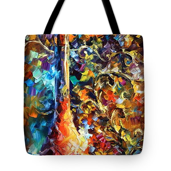 My Old Thoughts 2 Tote Bag by Leonid Afremov