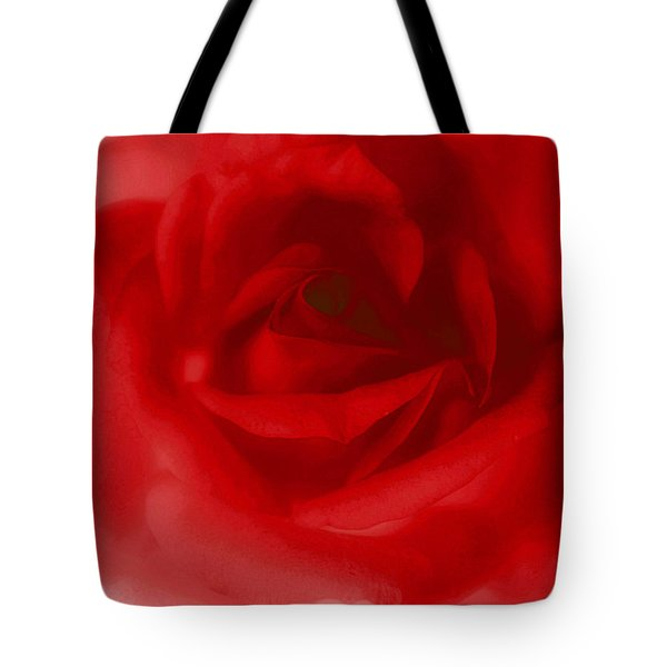 My Painted Love Tote Bag by The Art Of Marilyn Ridoutt-Greene