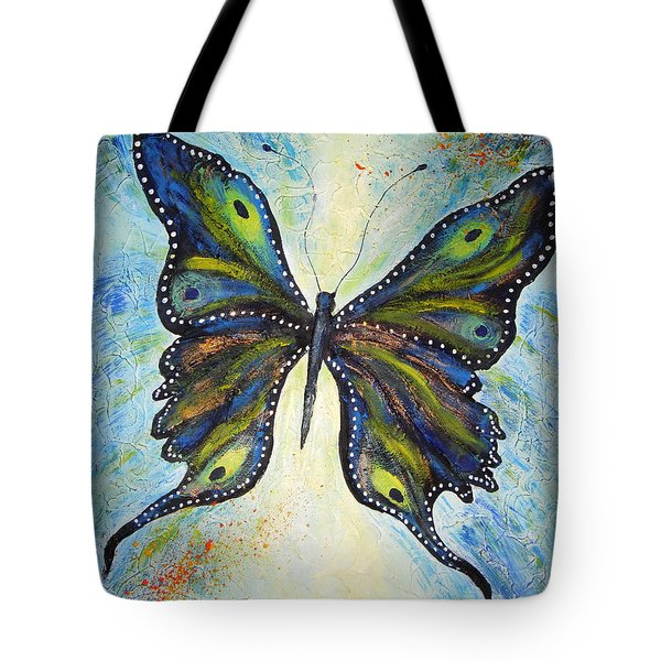 My Peacock Butterfly Tote Bag