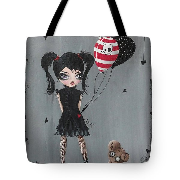 My Pet Monster Tote Bag by Oddball Art Co by Lizzy Love