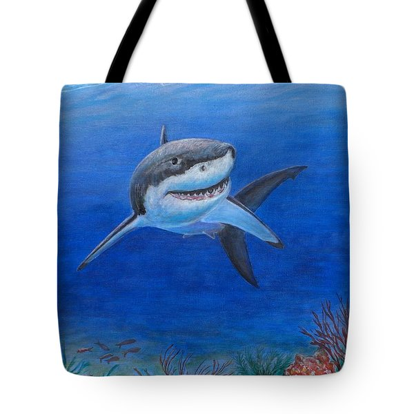 My Pet Shark Tote Bag