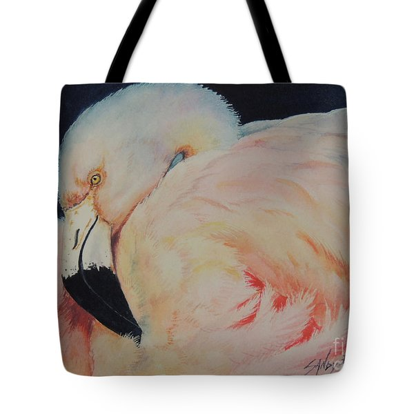 My Pink Flamingo...sold  Tote Bag