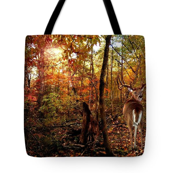My Place Tote Bag by Bill Stephens